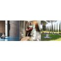 Den nya vinyogan – visuell vinprovning på yogamatta