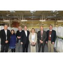 The American Ambassador to Germany, John B. Emerson, visits Villeroy & Boch in Mettlach