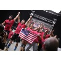 Team USA vinnare av CrossFit Invitational. Presenterad av Reebok.