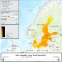 Prognosverktyg kopplar Östersjöns ytvattentemperaturer till risk för badsårsfeber