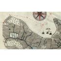 Spåren av digerdöden syns som utjordar i 1600-talets lantmäterikartor