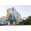 UPEA17-festivaali maalautuu nyt näyttävästi seinille eri puolilla Suomea