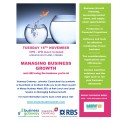 Business growth lunch