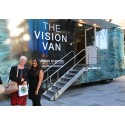 Leicester doctor tells of family eye cancer history as the 'Vision Van' targets the city offering free eye tests