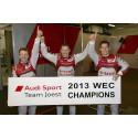 Sechster WEC-Saisonsieg für Audi und Fahrer-Weltmeistertitel in Shanghai*