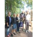 Sofie Bernhardsson blev besökare nr 50 000 på Kata Gård