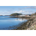 The village of Shieldaig in Wester Ross