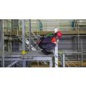 Fleksibel faldsikringsløsning i letvægtsmaterialer til kantarbejde