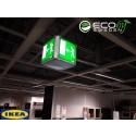 IKEA  väljer Eco by Sweden | Energieffektivisering och nödutgångsbelysning i LED