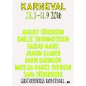 PÅMINNELSE Vernissage KARNEVAL!  Lördag 28 maj