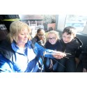 Digital Scotland's fibre showcase visits Prestwick