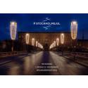 I morgon tänds en miljon LED-ljus i Stockholm City