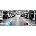 APCOA Parking/Europark fick kontroll över parkeringarna med PreCom