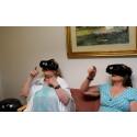 Sommarjobbare gör VR-film för äldre