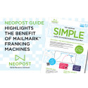 Neopost Guide highlights the benefit of MailMark franking machines
