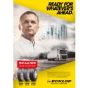 Dunlop lanserar ny linje vägtransportdäck för lastbilar