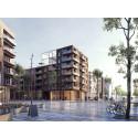 Arkitema och SSM skapar ett kvarter i Täby Park