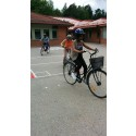 Cykelcirkeln uppfyllde Fatemes dröm