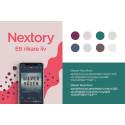 Nextory lanserar varumärkesplattform  med ny visuell identitet