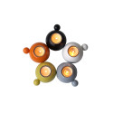 Heminredningsföretaget rotor presenterar Single, klotljusstake för värmeljus