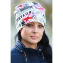 Modemössor från Brita W High Fashion Accessories, 20kr per såld mössa går till Bröstcancerfonden.