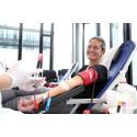 Blut spenden, Leben retten: Blutspendenaktion bei Santander