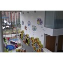 Children Get Animated About Library Mural