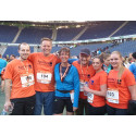 B2RUN in Hannover: Apontas läuft sich fit