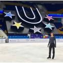 Alexander Majorov och Ondrej Spiegl till fria programmet i Universiaden - studentidrottens motsvarighet till olympiska spel