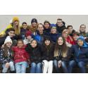 Olympier inspirerar barn att nå  100 varv runt jordklotet för en bättre värld