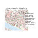 Karta möjliga platser för foodtrucks