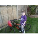 ​Young stroke survivor set to tackle Thames Bridges Bike Ride