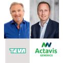 Teva og Actavis går sammen og blir et ledende legemiddelselskap i Norge!