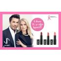 Kjøp leppestift fra Jan Thomas Studio Cosmetics og støtt Rosa sløyfe 2016!