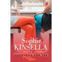 Ny bok: Cocktails för tre av Sophie Kinsella som Madeleine Wickham. Recensionsdag 23 januari 2013.