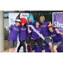 ​James Norton joins London cyclists in fundraising success for the Stroke Association