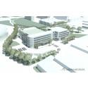 Ny skolbyggnad och sporthall vid Stadion