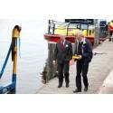Sublifts båtlyftsvagn visades upp vid kungligt länsbesök