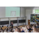New students explore Aarhus using DiscoverCity