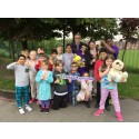 Oxford Grove Primary School pupils help to conquer stroke