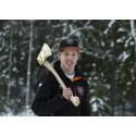 Ferry Svan klar för rookie-VM i Timbersports