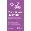 Annons Tack för att du cyklar