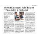 Surbana Jurong to help develop Trincomalee in Sri Lanka