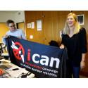 Nobels Fredssenter gratulerer ICAN