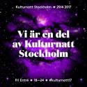 Stockholms stadsbibliotek deltar i Kulturnatt Stockholm