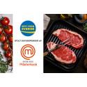 Ursprungsmärket Kött från Sverige huvudsponsor för Sveriges mästerkock