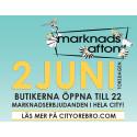 Marknadsafton i Örebro för 51:a året!