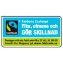 Uppsalabor i rekordstor fika för att sätta fokus på Fairtrade