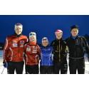 Skidungdomar från skidgymnasium trivs på Vitberget
