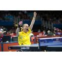 Paralympiska bordtennisspelare med siktet på EM-medaljer